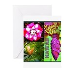 Native Hawaii's Tropical Flora Greeting Cards (Pk