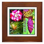 Native Hawaii's Tropical Flora Framed Tile