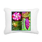 Native Hawaii's Tropical Flora Rectangular Canvas