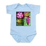 Native Hawaii's Tropical Flora Infant Bodysuit