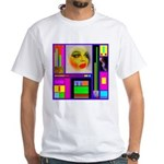 HRHSF Robotic ChestPlate White T-Shirt