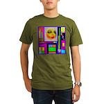 HRHSF Robotic ChestPlate Organic Men's T-Shirt (da