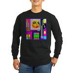 HRHSF Robotic ChestPlate Long Sleeve Dark T-Shirt