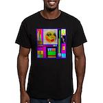 HRHSF Robotic ChestPlate Men's Fitted T-Shirt (dar