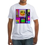 HRHSF Robotic ChestPlate Fitted T-Shirt