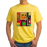 HRHSF Robotic ChestPlate Yellow T-Shirt