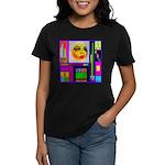 HRHSF Robotic ChestPlate Women's Dark T-Shirt