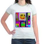HRHSF Robotic ChestPlate Jr. Ringer T-Shirt