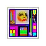HRHSF Robotic ChestPlate Square Sticker 3