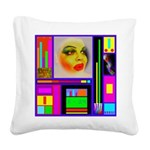 HRHSF Robotic ChestPlate Square Canvas Pillow