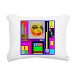 HRHSF Robotic ChestPlate Rectangular Canvas Pillow