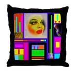 HRHSF Robotic ChestPlate Throw Pillow