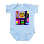 HRHSF Robotic ChestPlate Infant Bodysuit