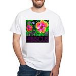 Hawaiian Hibiscus Cupid Shirt White T-Shirt