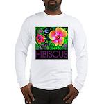 Hawaiian Hibiscus Cupid Shirt Long Sleeve T-Shirt