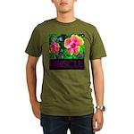 Hawaiian Hibiscus Cupid Shirt Organic Men's T-Shir