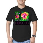 Hawaiian Hibiscus Cupid Shirt Men's Fitted T-Shirt