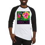 Hawaiian Hibiscus Cupid Shirt Baseball Jersey