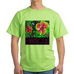 Hawaiian Hibiscus Cupid Shirt Green T-Shirt