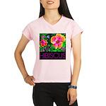 Hawaiian Hibiscus Cupid Shirt Performance Dry T-Sh