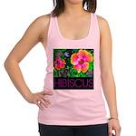 Hawaiian Hibiscus Cupid Shirt Racerback Tank Top