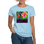 Hawaiian Hibiscus Cupid Shirt Women's Light T-Shir
