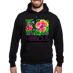 Hawaiian Hibiscus Cupid Shirt Hoodie (dark)