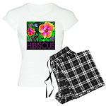 Hawaiian Hibiscus Cupid Shirt Women's Light Pajama