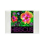Hawaiian Hibiscus Cupid Shirt Rectangle Magnet (10