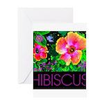 Hawaiian Hibiscus Cupid Shirt Greeting Card