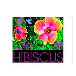 Hawaiian Hibiscus Cupid Shirt Postcards (Package o
