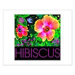 Hawaiian Hibiscus Cupid Shirt Small Poster