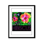 Hawaiian Hibiscus Cupid Shirt Framed Panel Print