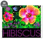 Hawaiian Hibiscus Cupid Shirt Puzzle