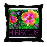 Hawaiian Hibiscus Cupid Shirt Throw Pillow