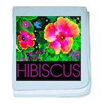 Hawaiian Hibiscus Cupid Shirt baby blanket