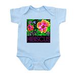 Hawaiian Hibiscus Cupid Shirt Infant Bodysuit