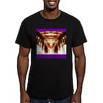 Hawaiian Shade Palm Men's Fitted T-Shirt (dark)