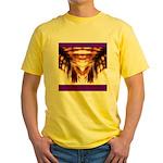 Hawaiian Shade Palm Yellow T-Shirt