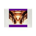 Hawaiian Shade Palm Rectangle Magnet (100 pack)