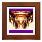 Hawaiian Shade Palm Framed Tile