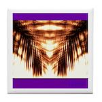 Hawaiian Shade Palm Tile Coaster