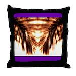 Hawaiian Shade Palm Throw Pillow