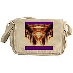 Hawaiian Shade Palm Messenger Bag