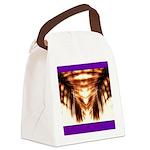 Hawaiian Shade Palm Canvas Lunch Bag