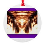 Hawaiian Shade Palm Round Ornament