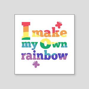 I make my own rainbow Sticker