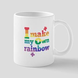 I make my own rainbow Mug