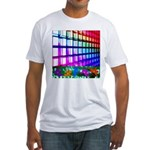 Digital Disco Cupids Fitted T-Shirt