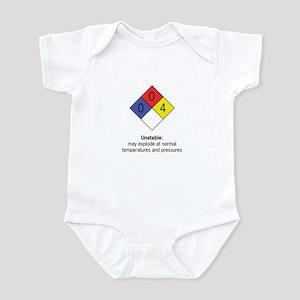 """""""Unstable"""" Infant Bodysuit"""